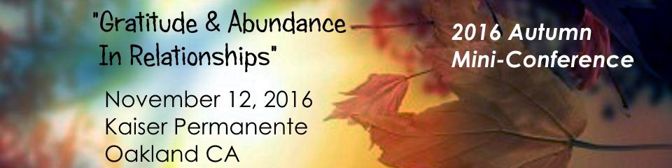 NorCal CoDA 2016 Autumn Conference